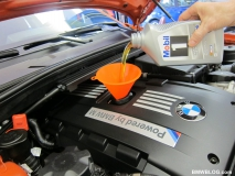 Смяна на моторното масло